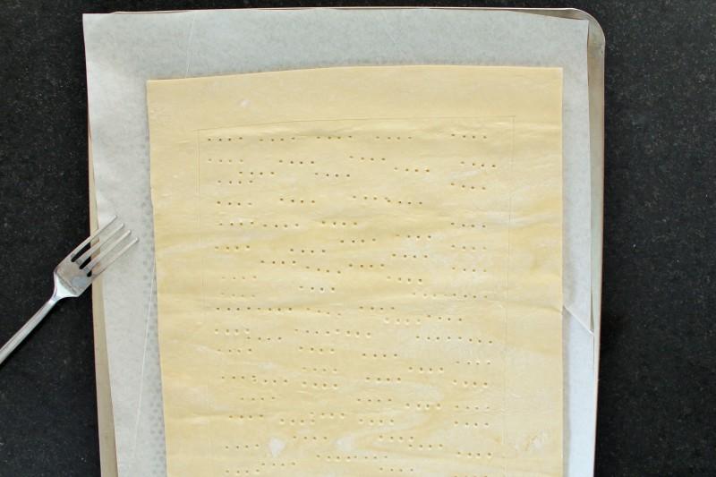 Torta de gorgonzola pera 2