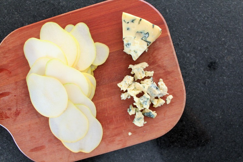 Torta de gorgonzola pera 3