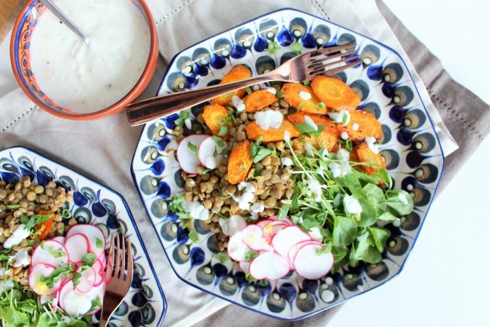 Salada de lentinha 6
